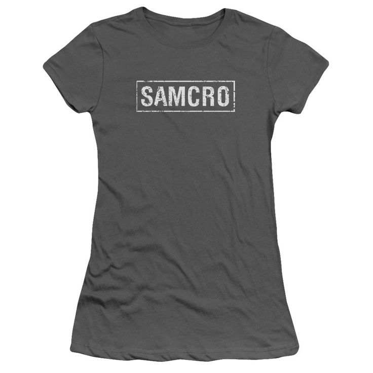 "Checkout our #LicensedGear products FREE SHIPPING + 10% OFF Coupon Code ""Official"" Sons Of Anarchy / Samcro-short Sleeve Junior Sheer - Sons Of Anarchy / Samcro-short Sleeve Junior Sheer - Price: $34.99. Buy now at https://officiallylicensedgear.com/sons-of-anarchy-samcro-short-sleeve-junior-sheer"