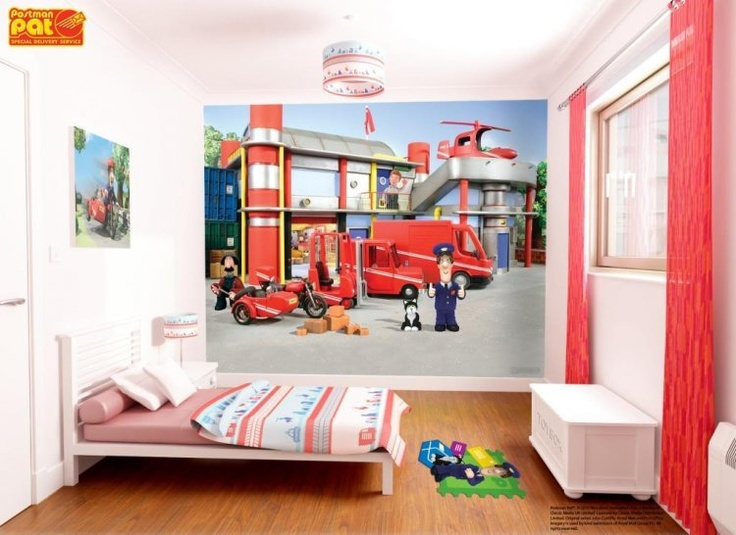 Postman Pat Kids Mural Will Be Delivered To You From WolFstock Uk Part 93