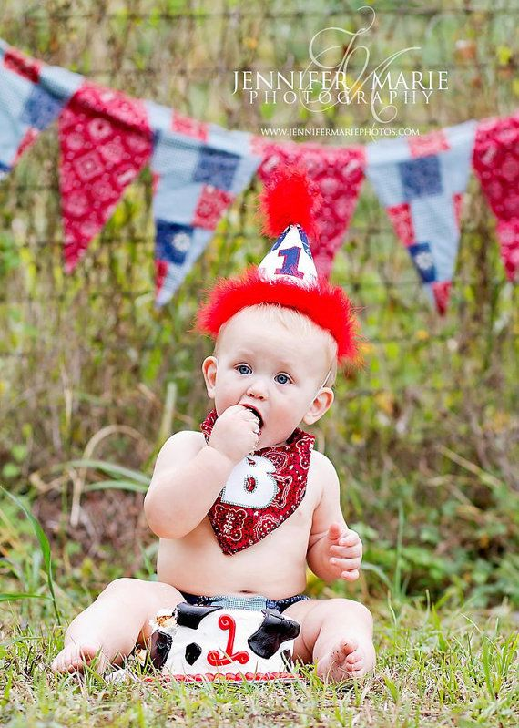 Birthday Party Hat Diaper Cover and Tie  by freshsqueezedbaby, $52.00