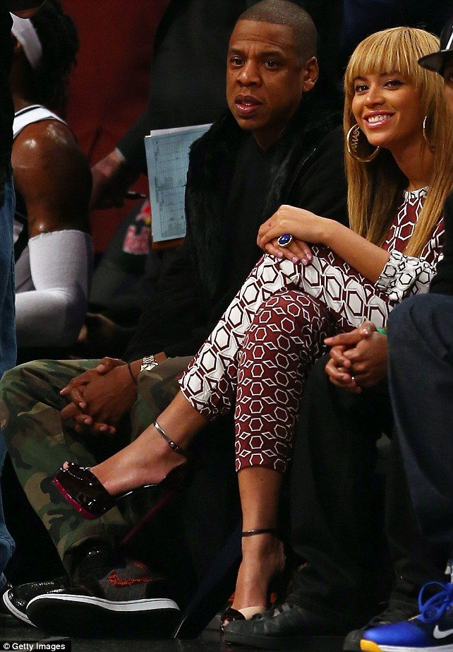 What a Dumbo! Thought Beyonce's anaconda trainers were bad? Husband Jay-Z  has shoes made from ELEPHANT skin