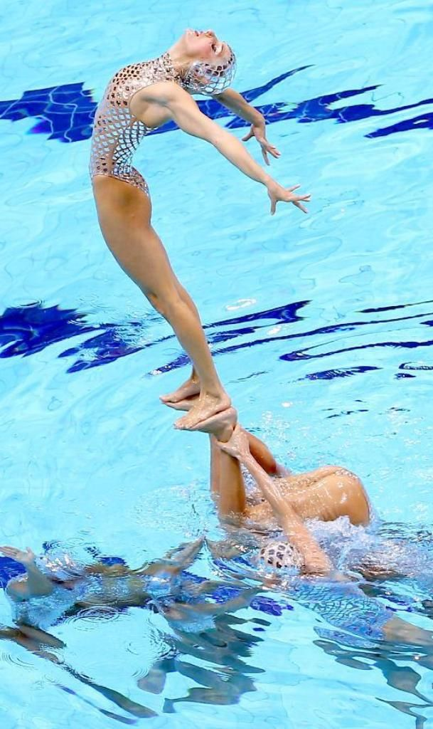 115 Best Beautiful Photos Of Synchronized Swimming Images