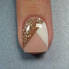 short gel nail designs - Google Search
