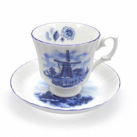 Delft Blue Tea Cups Set Delft Blue