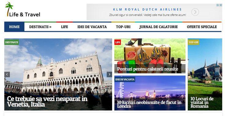 Lifeandtravel.ro este o revista online de turism, cele mai interesante destinatii turistice, idei de vacanta si top-uri cu cele mai inderesante locatii din lume.