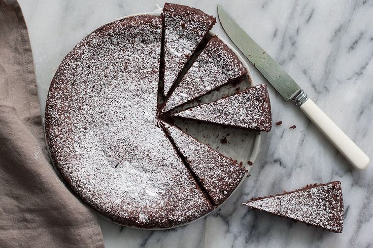 The Crazy Good Flourless Chocolate Cake with an Even Crazier Backstory on Food52