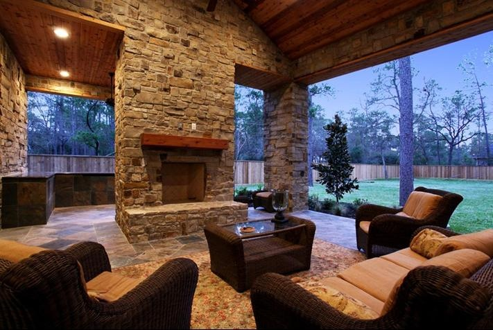 17 Best Images About Outdoor Fireplace On Pinterest Backyard Retreat Mantles And Hearth