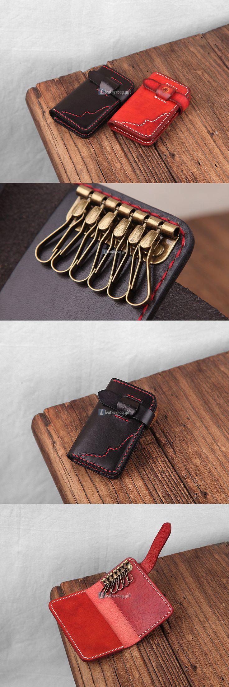 Leather Key Holder Key Wallet (3)