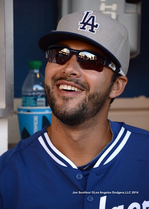 Andre Ethier   LOS ANGELES DODGERS AT SAN DIEGO PADRES