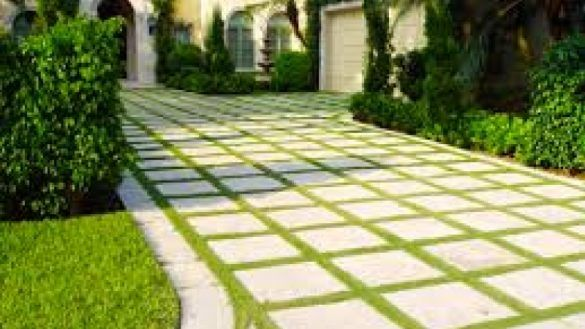Furniture Grass Driveways With Permeable Pavers Driveways Grasses And Intended For Grass Driveway Pavers Grass Pavers Driveway Permeable Pavers Paver Driveway