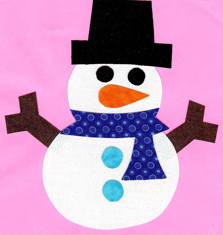 snowman with blue scarf Scarf