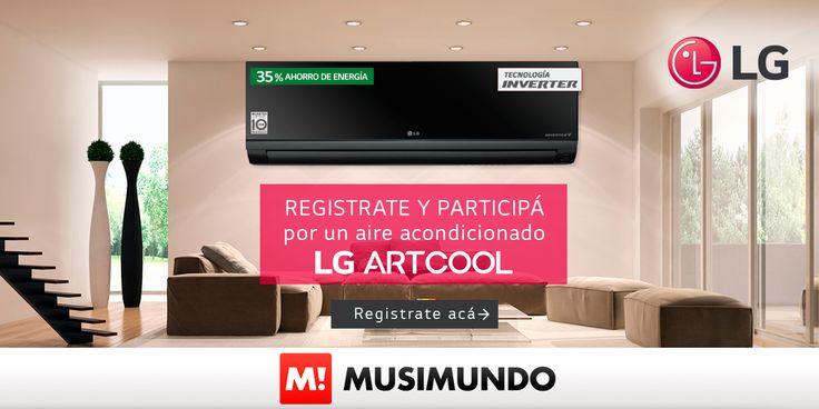 Musimundo.com - GANÁ UN AIRE ACONDICIONADO LG ART COOL INVERTER!