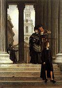 "New artwork for sale! - "" London Visitors by James Jacques Joseph Tissot "" - http://ift.tt/2qp83rL"