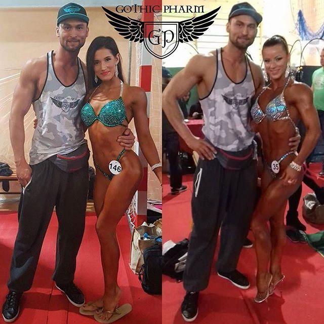 #gothicpharmteam @pawel_mlynarczyk_  w towarzystwie ślicznych Pań @marta_mila  oraz @diablica.bodyfitness  Takie piękne widoki mogliśmy obserwować w @minsk_mazowiecki na Pucharze Polski w Kulturystyce i Fitness 2016   #gothicpharm #blackpanther #preworkout #bodybuilding #instafit #fitness #fitnessmotivation #shredded #gymboy #gymtime #gymlife #fitnessfreak #fitnessmodel #strength #silownia #enginneredlife #fashionmen #fashion #stack #fitbody #eatclean #squat #trening #treningowo #pompa ...