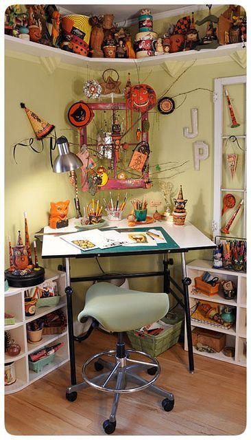 Johanna-Parker-Studio by Johanna Parker Design ~ One of my Halloween artist Heroes!