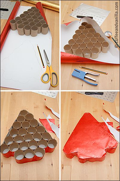 Step-by-step Advent Calendar Picture Tutorial