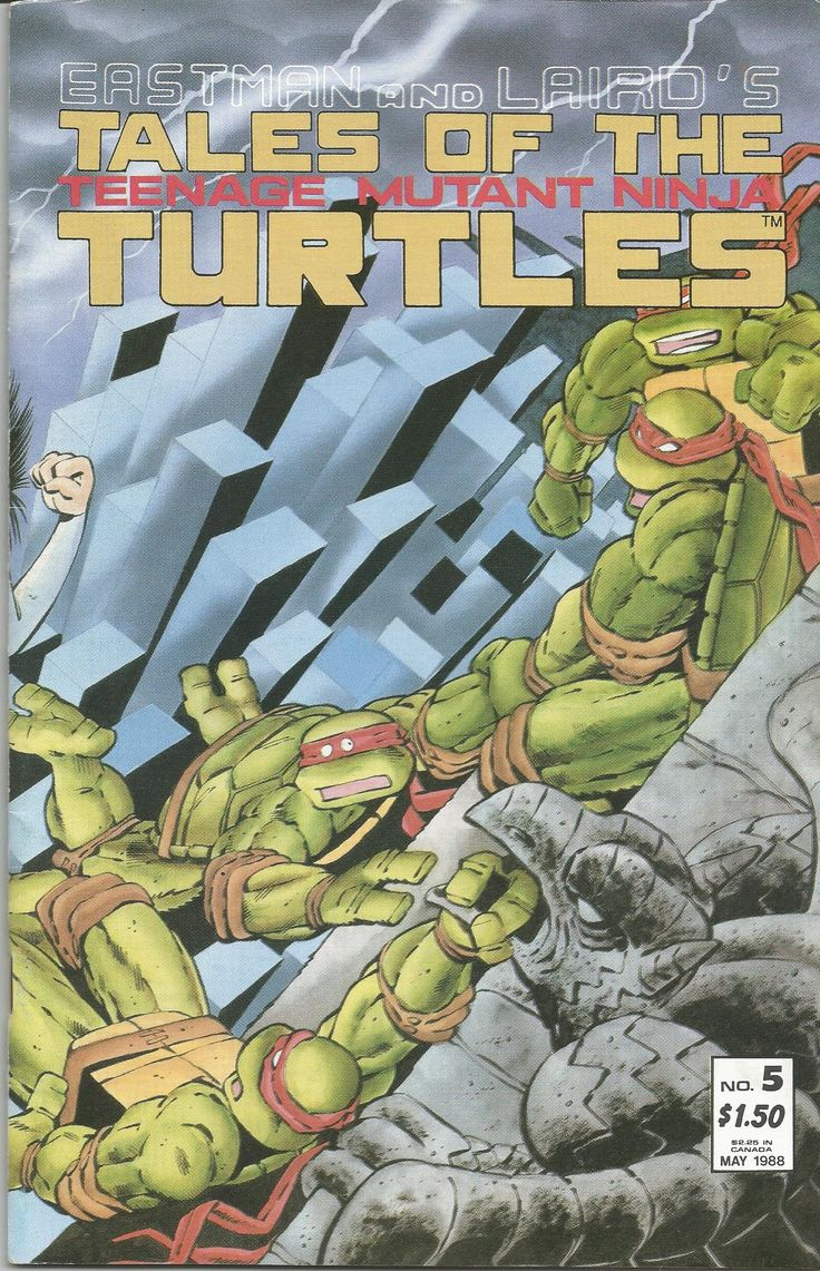 TALES OF THE TEENAGE MUTANT NINJA TURTLES/NR.5/1988  FIRST PRINTING, CONDITION-MINT 9.8/PRIMA EDITIE, CONDITIE- MINT 9.8 #comics #mirage #studios #teen #mutant #ninja #turtle #collectable