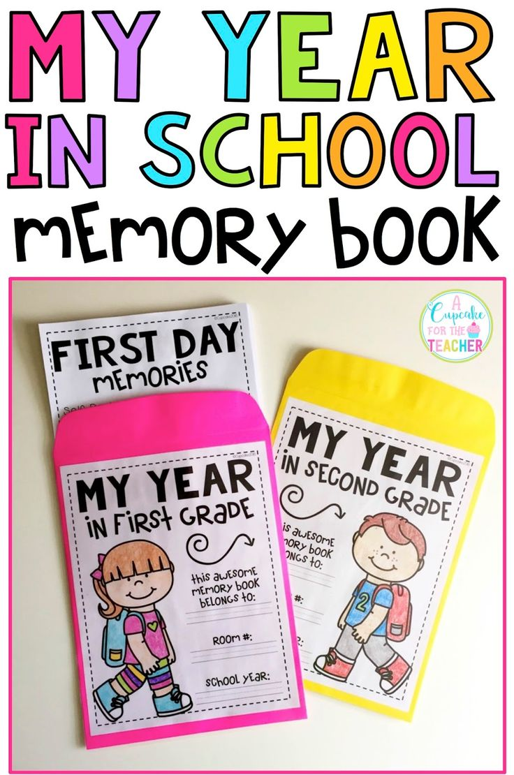 I Am Very Excited To Share My Latest Product With You! My Year In School  School Memory Booksgrade