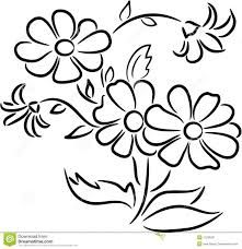Image Result For Bunch Of Flowers Drawing