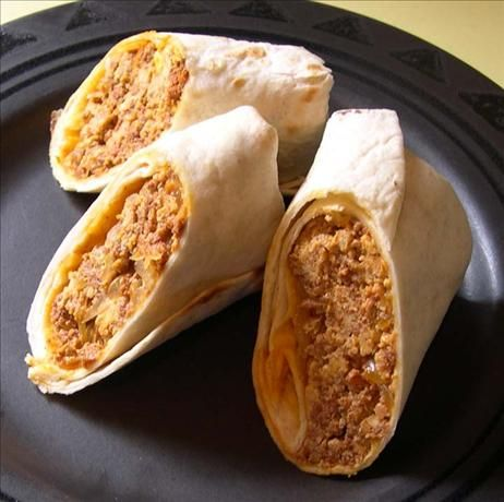 """Chorizo and Egg Burritos...*****5Star Rating....These burritos are excellent! There is enough flavor in just the eggs, chorizo and cheese, but the extra ingredients make it so much better."""""""