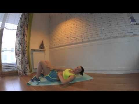 Rozejście się mięśnia prostego brzucha trening angażujący mięsień poprzeczny - YouTube