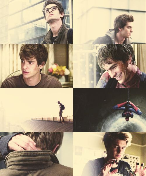 The Amazing Spider-Man. Just watched this yesterday. Totally fangirling over Andrew Garfield.