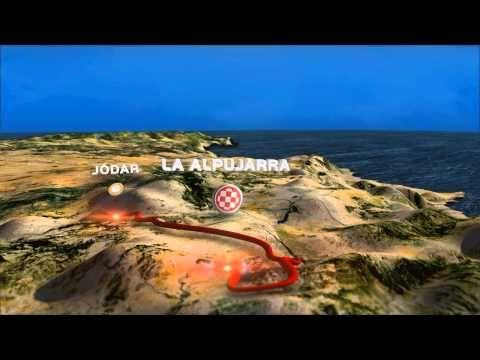 ▶La Vuelta a Espana- 2015 ROUTE 3D - YouTube