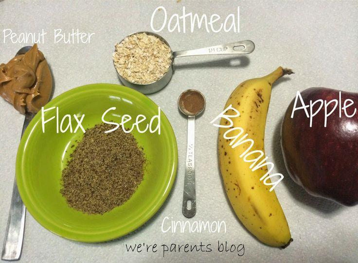We're Parents!?: Lactation Boosting Peanut Butter Apple Pie Smoothie Recipe ---   http://tipsalud.com   -----