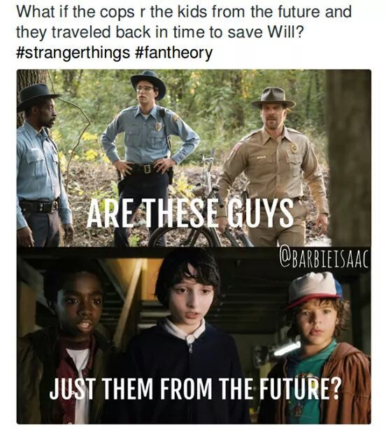 This would be interesting. >>> IT'S CALLED STRANGER THINGS FOR A REASON, AND THIS WOULD DEFINITELY COUNT AS A STRANGERISH THING
