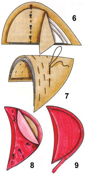 Как выбрать и пришить подплечники к изделию. Самостоятельное изготовление подплечника