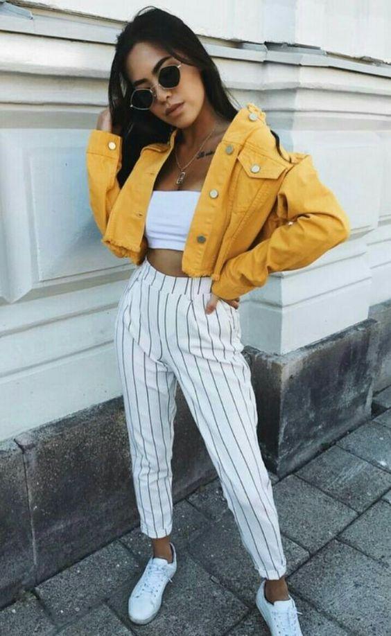 10 Möglichkeiten, um Ihre gelben Kleidungsstücke zu kombinieren, ohne lächerlich zu wirken