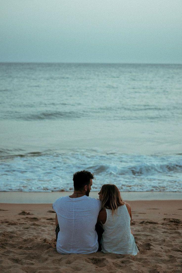 Fotos originales de parejas en la playa. Cádiz, España.