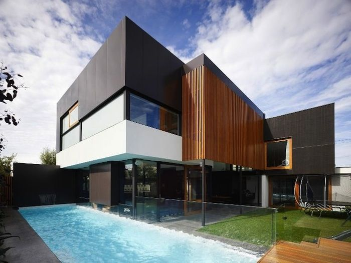Melbourne Based Studio Steve Domoney Architecture Has Designed The Hope Street Residence This Two Story Contemporary Home Is Located In Geelong West