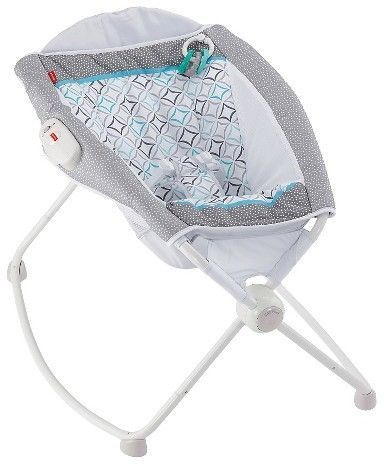 This Fisher-Price newborn Rock 'n Play sleeper is perfect gift for new parents. It's easy to use and fold it together when it's not necessary. Afflink.