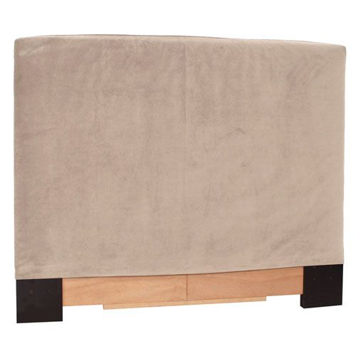 Bella Sand King Slipcovered Headboard