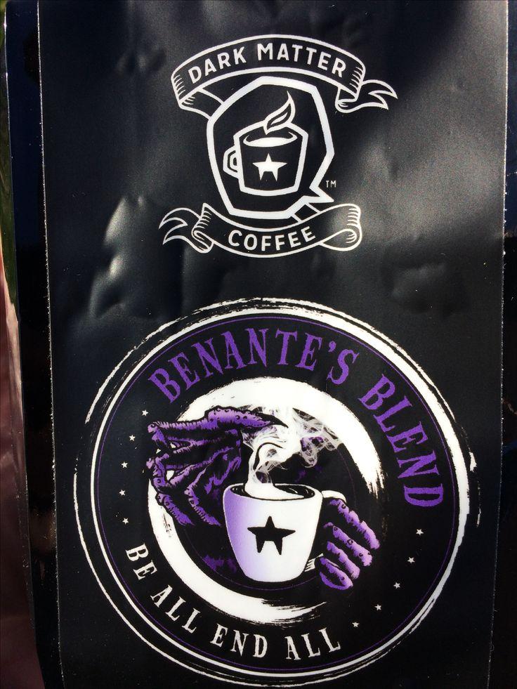 Dark Matter x Benante Blend LTD ED Be All End All 8oz coffee / CharlieBenanteStore