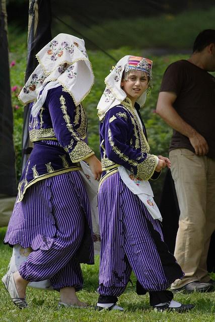 Turkish Folk Costumes