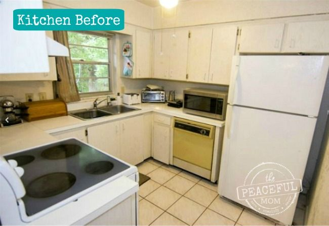 Check out our fixer upper home tour. This week I am sharing our progress in our horrible 1970's kitchen.