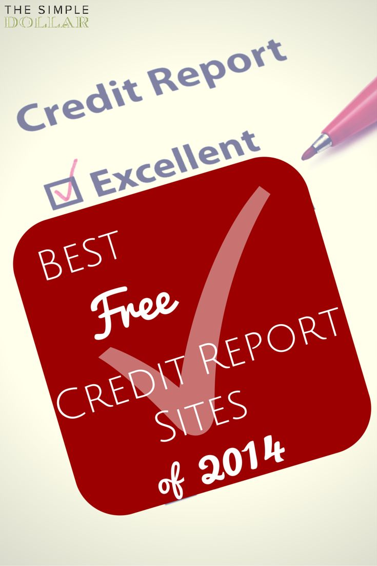 The Best Free Credit Report Sites of 2014 #credit #creditreport #bettercredit #free #save #debt #creditscore