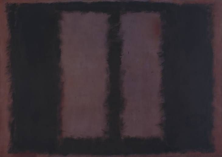 Mark Rothko Black on Maroon 1958 Mixed media on canvas support: 2667 x 3812 mm - Level 3: Room 6 Tate Modern, London: Display Open every day http://www.tate.org.uk/whats-on/tate-modern/display/mark-rothko