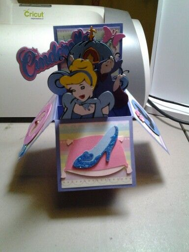 Cinderella card in a box