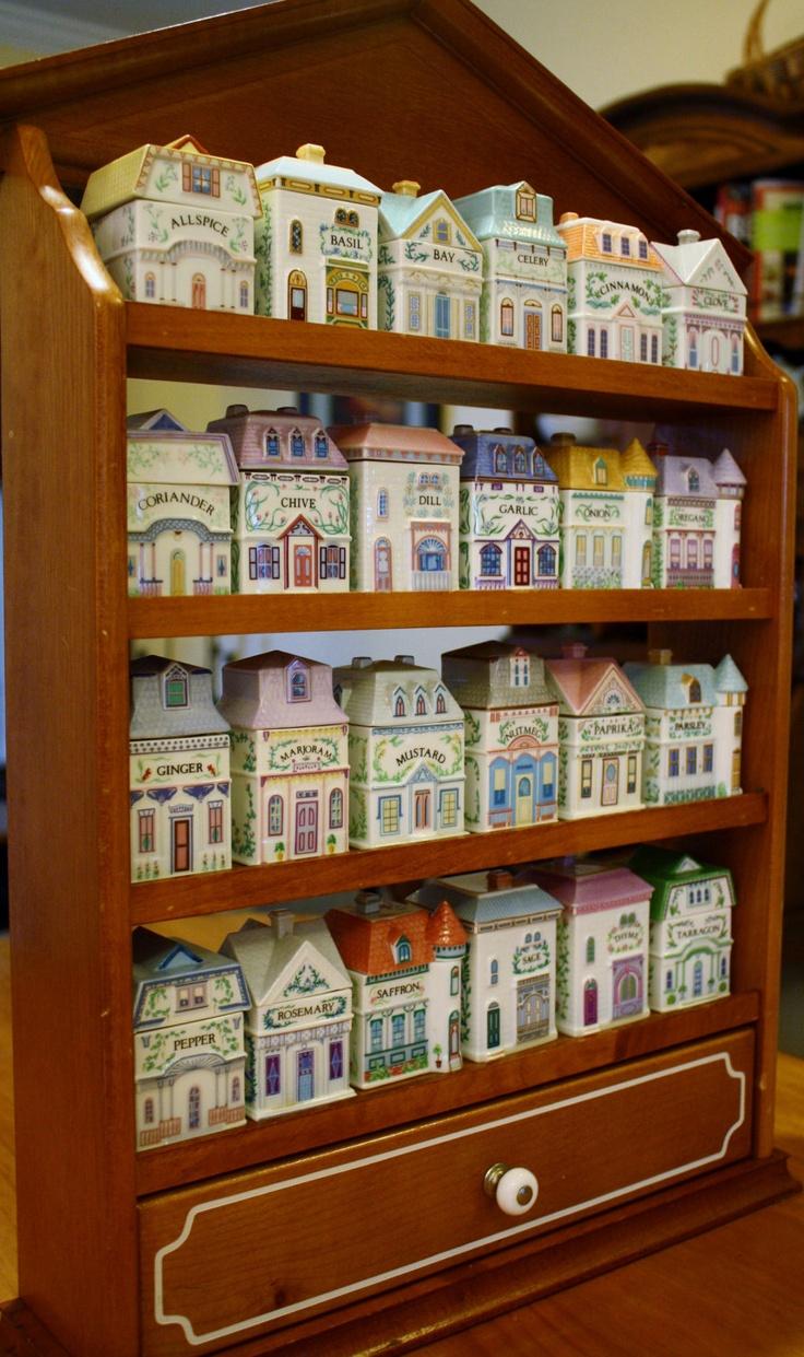 Lenox Spice Village Jars Collection