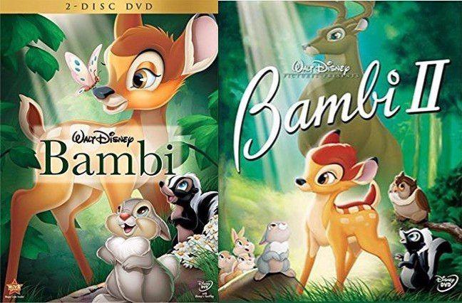 Bambi 1 & 2 (DVD)
