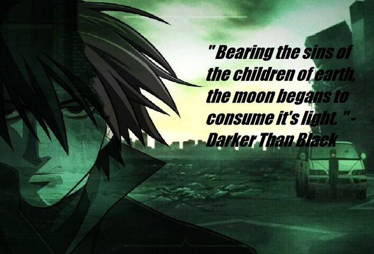 Darker Than Black Quotes
