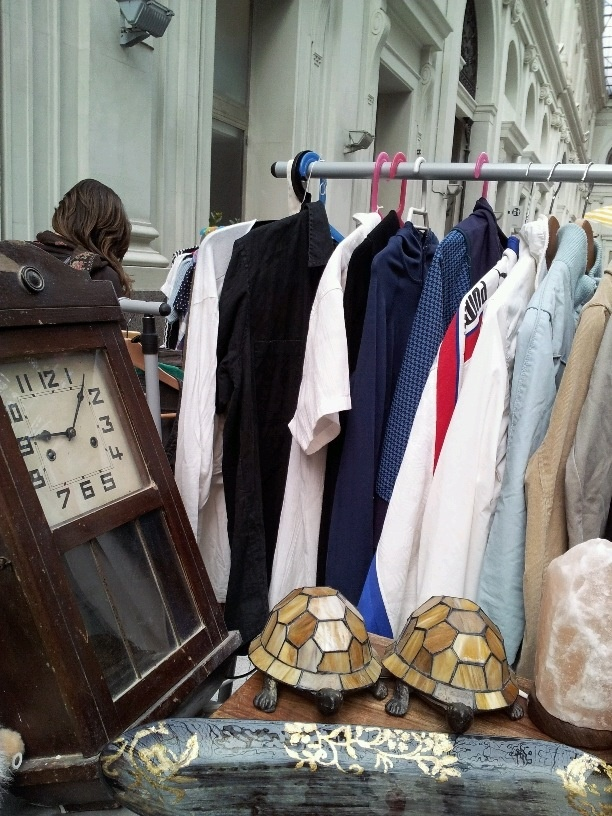 Details from our stall at Lost and Found second hand market, March 2012, Barcelona (Estación de Francia).