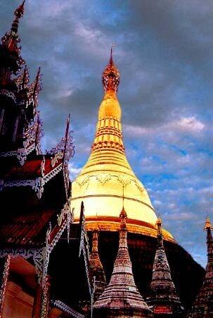 Kyaik Khauk Pagoda - The Historical Monument of Thanlyin, Myanmar