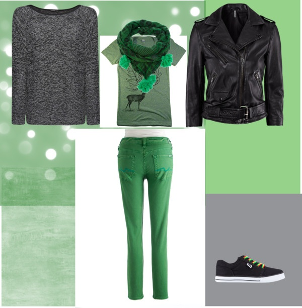 """Further gren"" by raluknaluk on Polyvore"