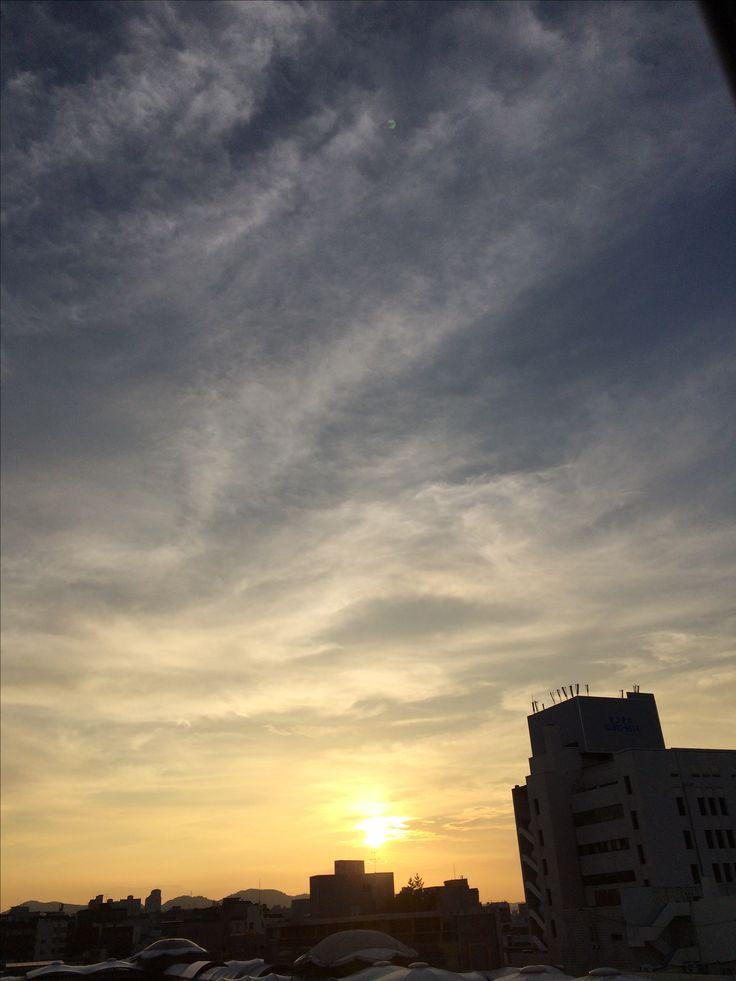 2017년 8월 2일의 하늘 #sky #cloud  #sunset