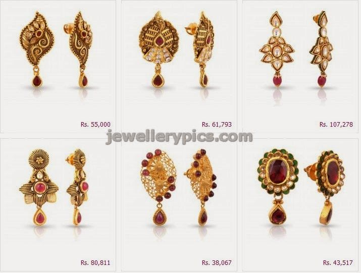 Malabar Gold Ethnix Earring Collection Latest Jewellery