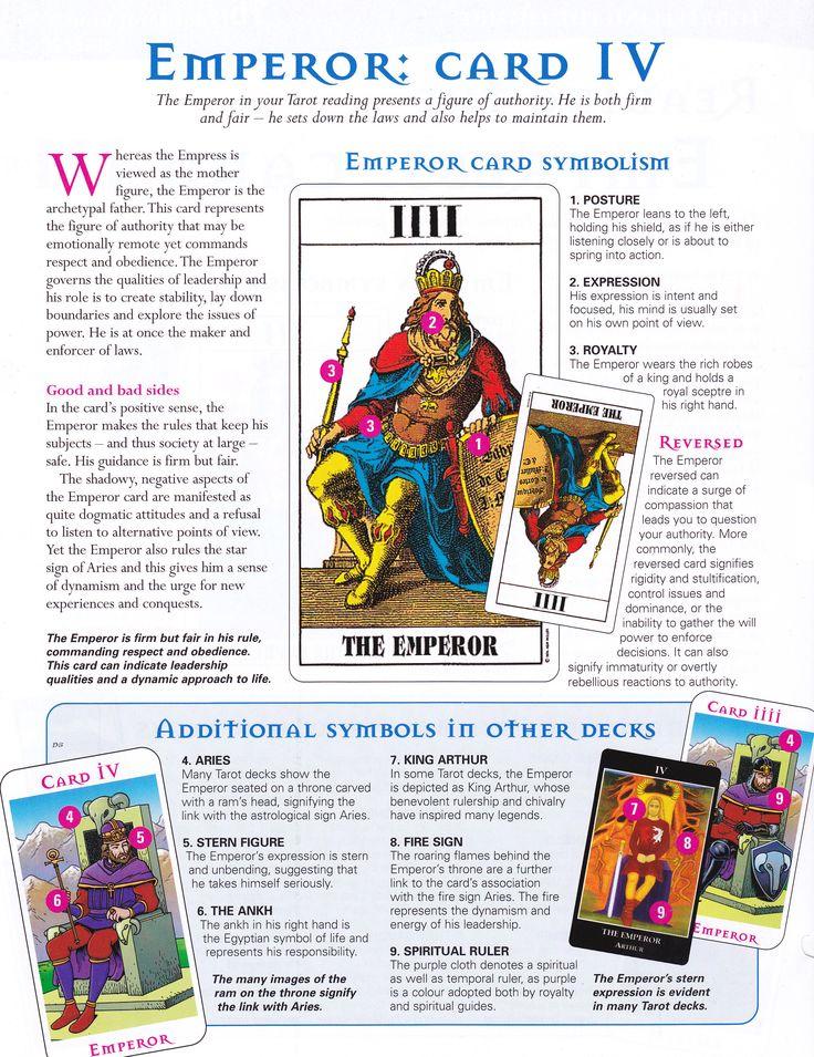 Reading the Emperor card - 8/1/17