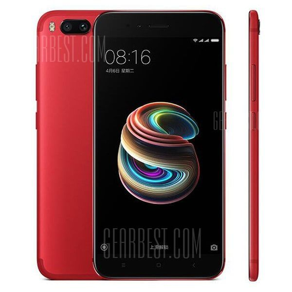 🏷️🐼 XIAOMI Mi A1 4G Phablet 4GB RAM Global Version-RED - 178.32€    Tip: Unlocked for Worldwide use. Please ensure local area network is compatible. click here for Network Frequency of your country. Please check with your carrier/provider before purchasing this item. The ROM on this Phone supports OTA and is multi language. Main Features: Xiaomi Mi A1 4G...  #BonsPlans, #Deals, #Discount, #Gearbest, #Promotions, #Réduc, #Xiaomi